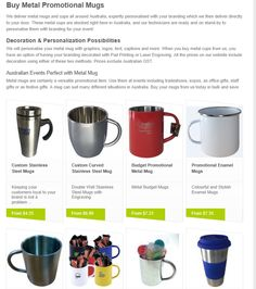 Make sure that your #promotional mugs never get broken!   Check out our #metal promo collection!
