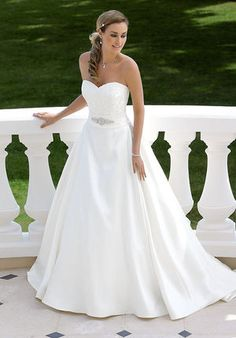 Explore the extensive collection of wedding dresses by Ladybird Bridal online. Affordable, stylish wedding dresses with the perfect fit for any figure. Pretty Wedding Dresses, Lace Wedding Dress, Gorgeous Wedding Dress, Bridal Wedding Dresses, Wedding Attire, Beautiful Bride, Beautiful Dresses, Nice Dresses, Wedding Styles