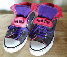 Converse Women's Chuck Taylor Peel Down Mid Casual Shoe 9.5 US / 7.5 UK #Converse #SkateShoes