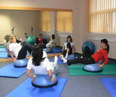 Rehablitačné cvičenia vskupinkách | Uniklinika Prievidza
