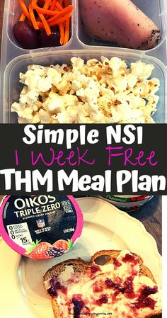 Trim Healthy Mama Diet, Trim Healthy Recipes, Thm Recipes, Healthy Eating, 7 Day Meal Plan, Meal Prep, Healthy Breakfast Menu, Thm Diet, Fuel Pull