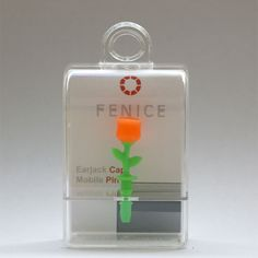 http://www.cell-wear.com/ear-jack-caps.html  #earjackcaps #fenice #design #cellphone #accessories #orange #rose #oranje #nederlands