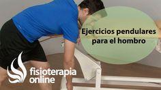Ejercicios pendulares para el dolor y rehabilitación de hombro.