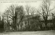 Maisons-laffitte  - La vieille église. https://www.pinterest.com/zip0395/