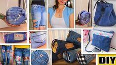 DIY 11 Ideas fantásticas para transformar Jeans