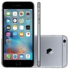 "foto: iPhone 6s Plus 16GB Cinza Espacial Tela 5.5"" iOS 9 4G 12MP - Apple"
