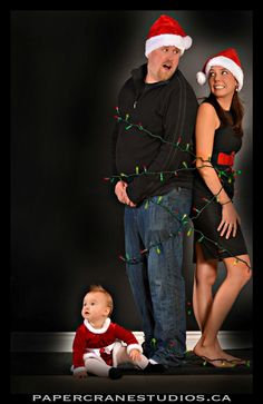 Family Christmas Photography ~ How Baby Chase Stole Christmas