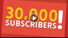 30,000 SUBSCRIBERS!  http://videotutorials411.com/30000-subscribers/  #Photoshop #adobe #lightroom #graphicdesign #photography