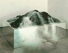 mirror plinth