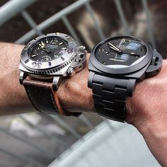 PAM187&438 Best Looking Watches, Best Watches For Men, Big Watches, Luxury Watches For Men, Sport Watches, Cool Watches, Luminor Watches, Channel Bags, Older Mens Fashion