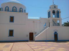 Beautiful church in Kardamena Kos, for more information check out http://www.kosexplorer.com/place/kardamena