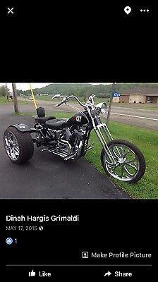 eBay: 2003 Harley-Davidson Trike 2003 Harley Davidson one of a kind Custom Built Trike #harleydavidson