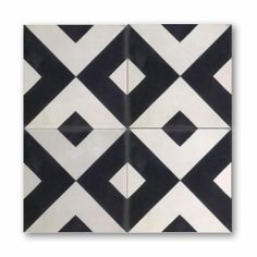 checkered past ~cement tiles from clé