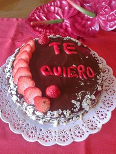Turismo Rural: Tarta de chocolate dia especial