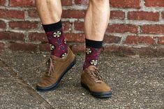 Floowyerion Mens Happy Good Friday Behold the Lamb of God Novelty High Sports Socks Crazy Funny Crew Tube Socks