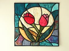 Stained glass patchwork