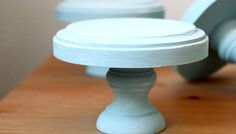 Mini Wooden DIY Cupcake Display Stands