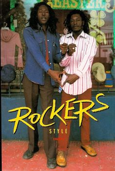 """ROCKERS is a Robin Hood style story of oppressed Jamaican musicians getting even with the """"mafia types"""" in the business. Reggae Style, Reggae Music, Dennis Brown, Jamaican Music, Music Images, Rocker Style, African Diaspora, Black Pride, Bob Marley"""