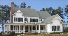 Belle Crest - Plan # 01288 | Country-Farmhouse-Southern