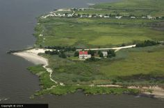 East Point Lighthouse, Aerial View <3