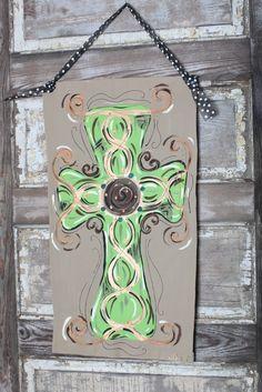 My cross door banner!