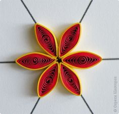 Master Class Master Class Quilling how to make a beautiful flower Photo Paper 19