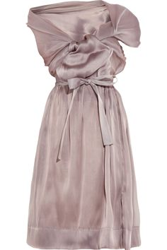 Vivienne Westwood Gold Label Riding Asymmetric Silkorganza Dress