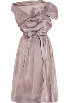 Vivienne Westwood Gold Label Riding asymmetric silk-organza dress NET-A-PORTER.COM