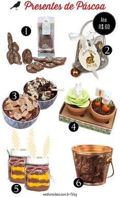 seleção de chocolate