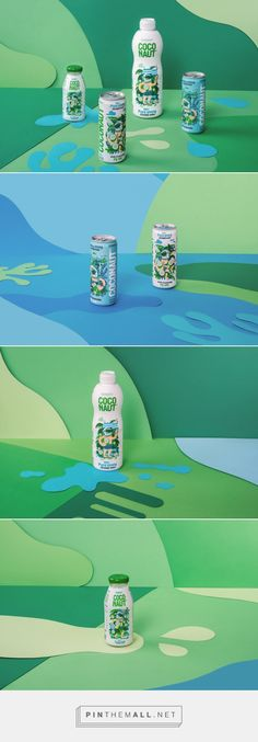 Coconaut® is the purest coconut water / design by Sixtyone Yards