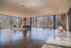 The home from Ferris Bueller's Day Off. Built in 1953, The Ben Rose House — located in Highland Park, Illinois — was designed by architects A. James Speyer and David Haid.