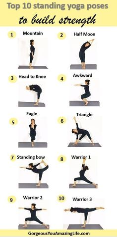 Add these 10 yoga poses to your daily routine to build strength improve balance&; Add these 10 yoga poses to your daily routine to build strength improve balance&; Daniela Kühl Yoga-Sequencen Add these […] poses for strength Standing Yoga Poses, Yoga Poses For Back, Yoga For Back Pain, Easy Yoga Poses, Meditation For Beginners, Yoga Poses For Beginners, Pilates Training, Yoga Fitness, Physical Fitness