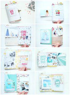 Juli Kit 2016 Steffi Ried Minialbum *Kreta* Details #scrapbookwerkstatt #ellesstudio #simplestories #scrapbooking #minibook #minialbum #papercraft #diy