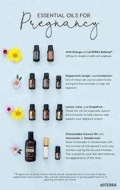 Learn more about using essential oils during pregnancy and with children.