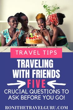 Traveling with friends you can have an amazing experience! Before you take that plane, train, or that automobile, please ask these 5 questions. What If Questions, This Or That Questions, Friendship Over, Group Travel, Ways To Travel, African American History, Plane, Traveling By Yourself, Automobile