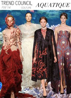 Couture Themes: AQUATIQUE