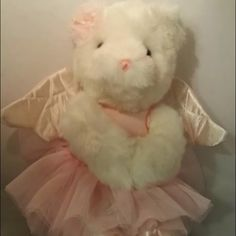Limited Vs angel bear! NWT!!! Gorgeous! Perfect condition bear. Super soft:) still have the tags on it. I purchased this from someone but decided not to keep it. Htf in this condition. Trade value is $100 PINK Victoria's Secret Other