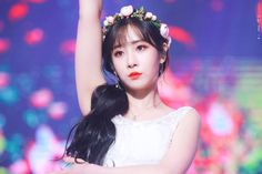 Pop Group, Girl Group, Group Roles, Lovelyz Jiae, Photo P, Woollim Entertainment, Best Face Products, Beautiful Babies, Flower Crown