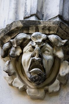 Gargoyle, City College of New York, CCNY, NYC. IMG_1701LR edit by StevenC_in_NYC, via Flickr