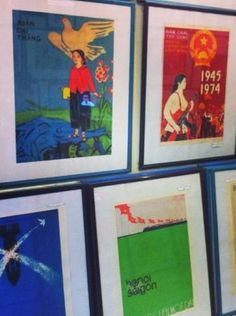 For something truly unique from Hanoi, check out Old Propaganda, which sells replicas of propaganda posters from French and American wars in Vietnam.