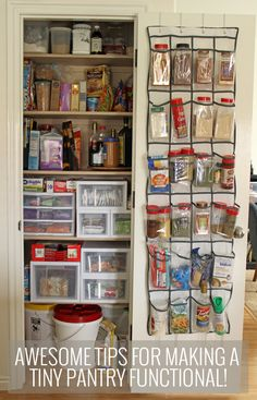 DIY Kitchen Closet Pantry Under $100 | Kitchen Pantry Storage, Pantry  Storage And Small Closets