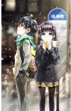 Sousei no onmyouji / Rokuro and Benio Couple Manga, Anime Love Couple, Cute Anime Couples, I Love Anime, Anime Guys, Manga Anime, Fanart Manga, Sousei No Onmyouji Benio, Adashino Benio