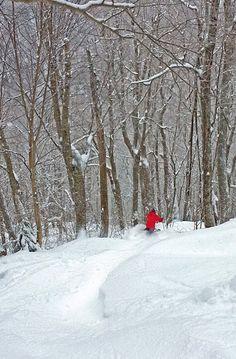 "Jay Peak: ""Ski the East"" in snow like the west. (No joke.)"