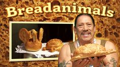 Danny Trejo's #Breadanimals! #food #bread