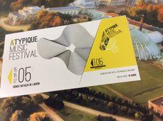 © Ticket d'entrée FESTIVAL ATYPIQUEaux serres de Laeken (B)  /// Garance ANRYS, Jeason POURCELT, Margot BRASSEUR, Brieuc DEGOUYS