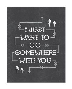 Somewhere With You :: Print