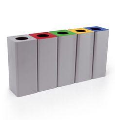 Cubo de basura de reciclaje CENTOLITRI Caimi Brevetti SpA