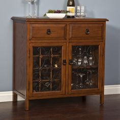A wine cabinet is much more than a rack, enabling a permanent, closed storage option for wine enthusiasts that will improve any space, from cellar to dining room. These are typically built like a hutch or dresser, with drawers, cupboard doors, and a serving surface, with ample interior storage.