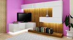 Říkali jsme Vám, že nyní děláme také kompletní vybavování interiéru na míru?  Tak co takhle obývací stěna?  Pro zákazníka z Prahy.