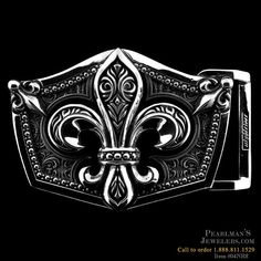 Bad ass Fleur De Lis Buckle from Nightrider at Pearlman's Jewelers
